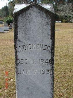 Eliza A. Dickenson