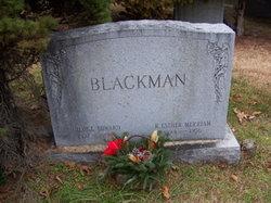 George Edward Ed Blackman