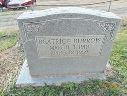 Pleasie Beatrice <i>Sanders</i> Burrow