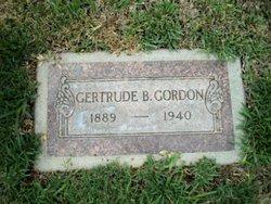 Gertrude B. Gordon