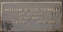 William Roger Tidwell