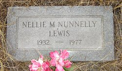 Nellie M. <i>Nunnelly</i> Lewis