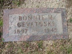 Bonnie M <i>Dippo</i> Gevatoski