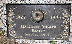 Margaret <i>Ditzler</i> Beatty