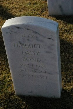 Harriett Daisy <i>King</i> Bond