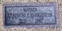 Flora Gertrude <i>Keller</i> Harrington