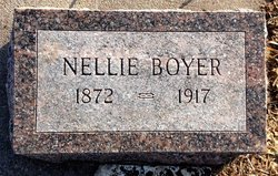 Nellie Florence <i>Mapes</i> Boyer