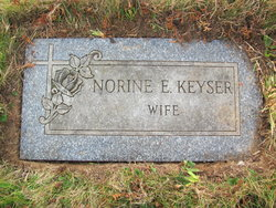 Ethel Norine <i>Rohrbach</i> Keyser