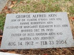 Dr George Alfred Akin