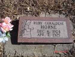 Ruby Geraldine Horne