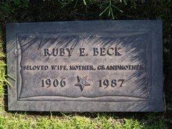 Ruby Edna <i>Hutson</i> Beck