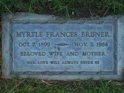 Myrtle Frances <i>Hoover</i> Bruner