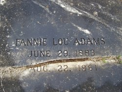 Fannie Lou <i>Maddox</i> Adams