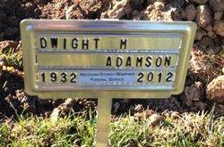 Dwight M. Whitey Adamson