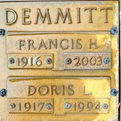 Francis H Demmitt