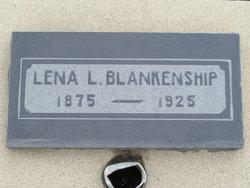 Leona Leota Lena <i>Scruggs</i> Blankenship