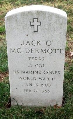 Jack C McDermott