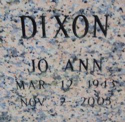 Jo Ann Dixon