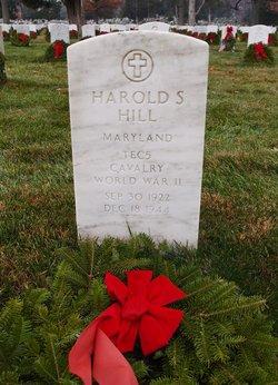Harold S Hill
