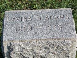 Lavina B. Adams