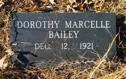 Dorothy Marcelle <i>McBride</i> Bailey