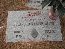 Delane Elizabeth Allen