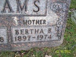 Bertha B Adams