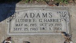 G Harriet Adams