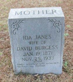Ida <i>Janes</i> Burgess