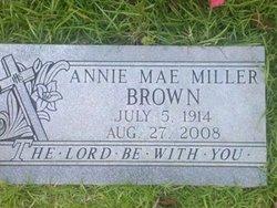 Anna Mae <i>Miller</i> Brown