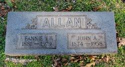 Fannie Ida <i>Garber</i> Allan