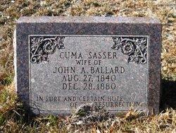 Tolitha Cuma <i>Sasser</i> Ballard