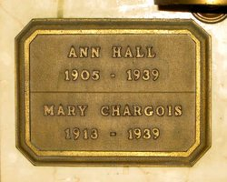 Mary <i>Hall</i> Chargois