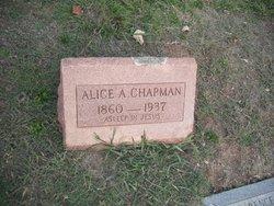 Alice Ann <i>Rogers</i> Chapman