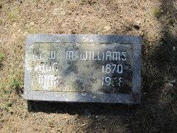James Wesley McWilliams