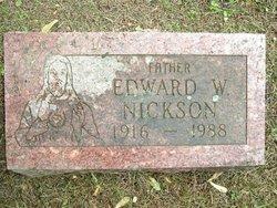 Edward W Nickson