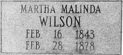 Martha Malinda Wilson