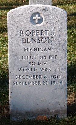 Robert J Benson