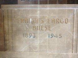 Frances Marie <i>Fargo</i> Buese
