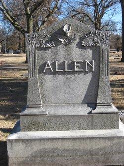 Agnes Edith <i>Mozee</i> Allen