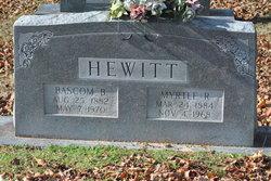 Baskum B. Hewitt