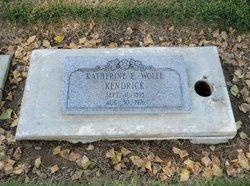 Katherine E Kendrick