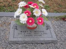 Mary Glennis <i>Martin</i> Mecone