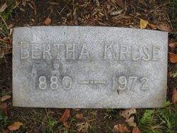 Bertha <i>Rausenberger</i> Kruse