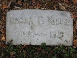 Oscar F Kruse