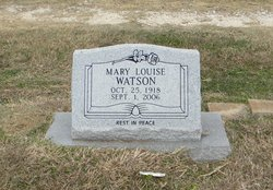 Mary Louise <i>Martin</i> Watson
