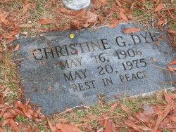 Christine <i>Grissom</i> Dye