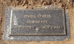 Jewell Nadine <i>Overcash</i> Beal