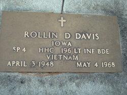Spec Rollin Duane Davis