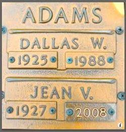 Dallas Walter Adams